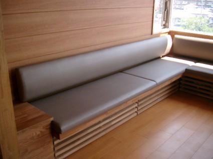 制作事例:病院家具
